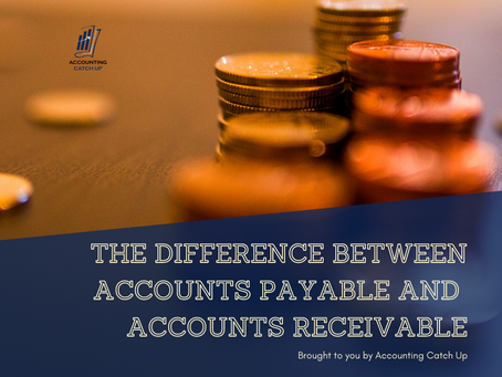 The difference between Accounts Payable and  Accounts Receivable