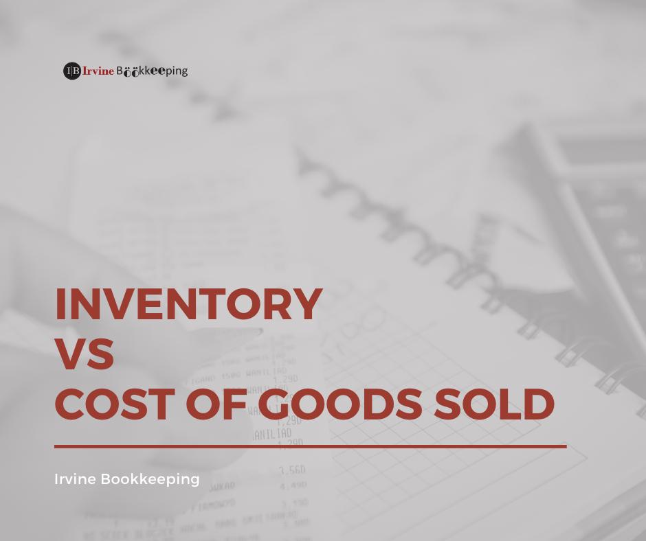 Inventory - Irvine Bookkeeping