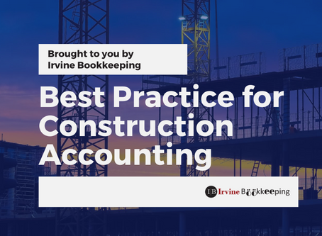 Best Practices for Construction Accounting