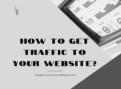 How to get traffic to your website?