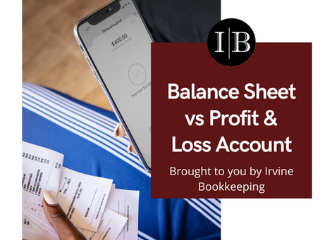 Balance Sheet vs Profit & Loss Account