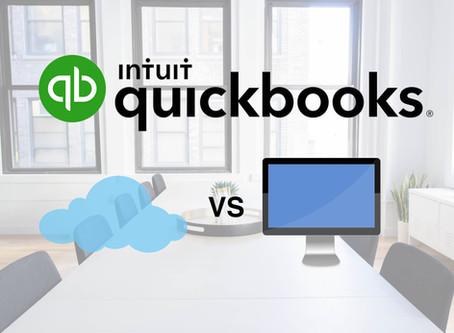 QuickBooks Online versus QuickBooks Desktop