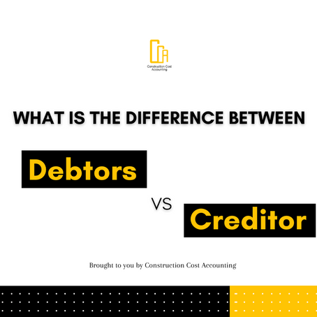 What Is The Difference Between A Debtor Vs A Creditor?