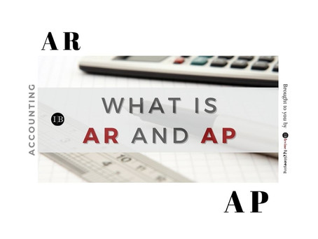 Accounting: What are AP and AR ?