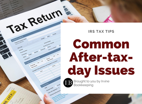 IRS Tax Tips: How to troubleshoot after-tax-day issues