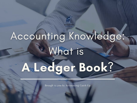 Accounting Knowledge: What is A Ledger Book?