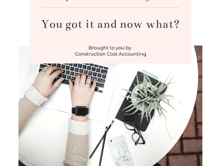 Paycheck Protection Program Loan – Construction Accounting