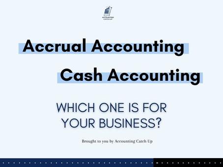 Cash Basic Accounting Vs Accrual Accounting