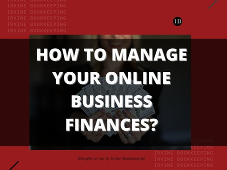 How To Manage Your Online Business Finances?