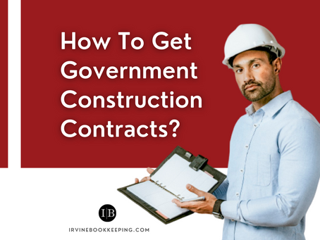 How To Get Government Construction Contracts?