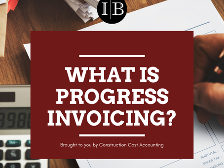 What is Progress invoicing?
