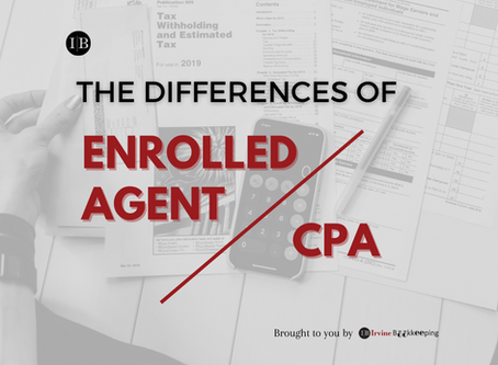The differences of Enrolled Agent vs. CPA