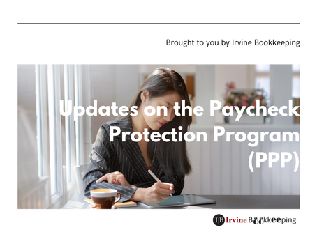 UPDATED NEWS on Paycheck Protection Program