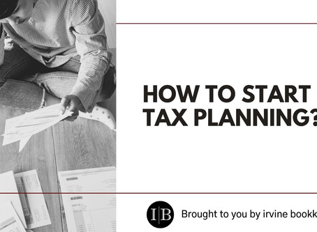 How to Start Tax Planning