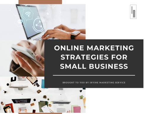 Online marketing strategies for small business