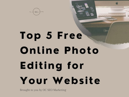 Top 5 Free Online Photo Editing for Your Website