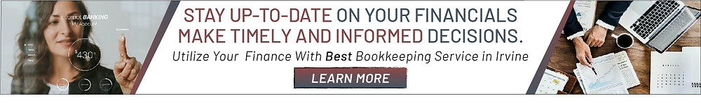 irvine bookkeeping banner