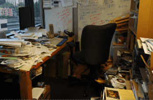 documents not organized