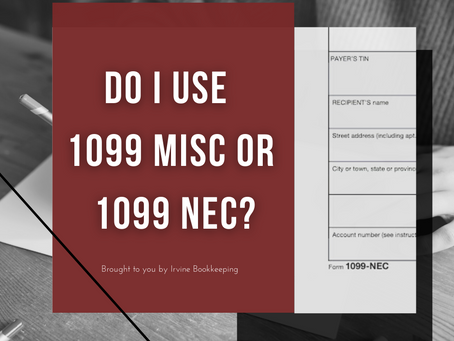 1099-NEC and 1099-MISC: Do I use 1099 MISC or 1099 NEC?