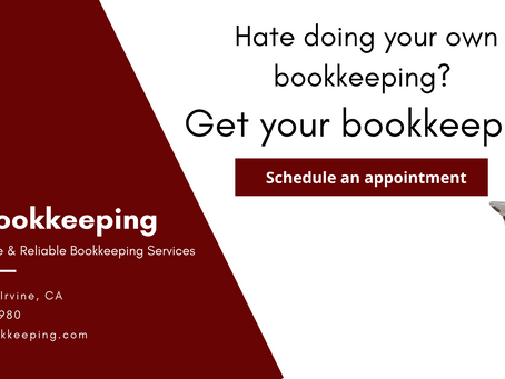 Affordable Bookkeeping with Irvine Bookkeeping