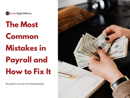 The Most Common Mistakes in Payroll and How to Fix It