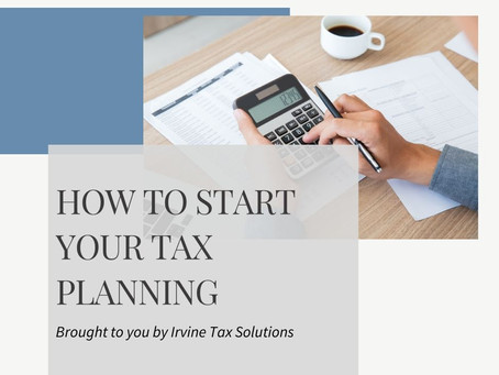 How to Start Your Tax Planning