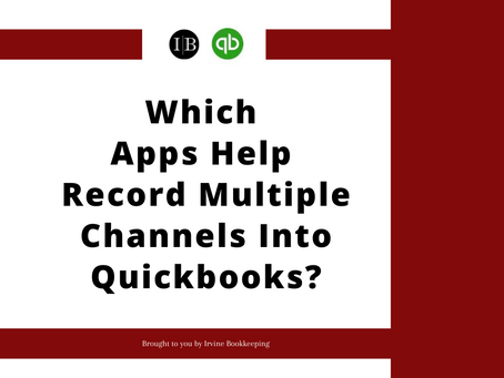 Which Apps Help Record Multiple Channels Into Quickbooks?