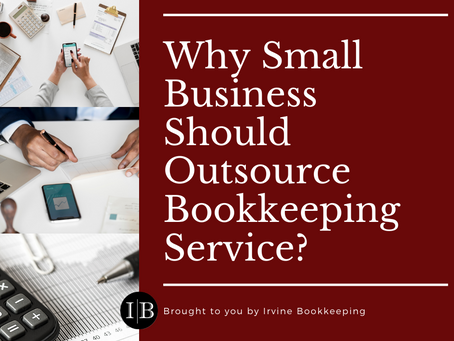 Why Small Business Should Outsource Bookkeeping Service?
