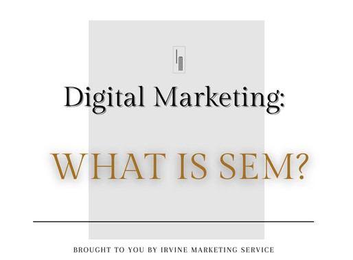 Digital Marketing: What Is Sem?