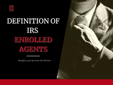 Definition of IRS Enrolled Agents