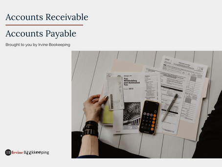 Accounts Receivable vs Accounts Payable in QuickBooks?
