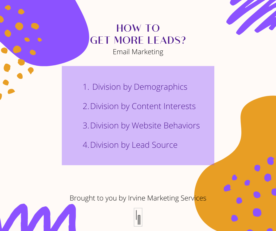 leads for email marketing
