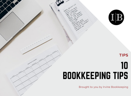 10 Bookkeeping Tips Can Be Used Year Round