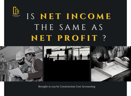 Is Net Income The Same as Net Profit?