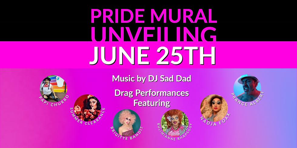 Pride Mural Unveiling