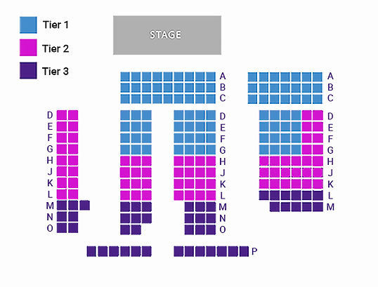 Esther's Follies Seating Chart
