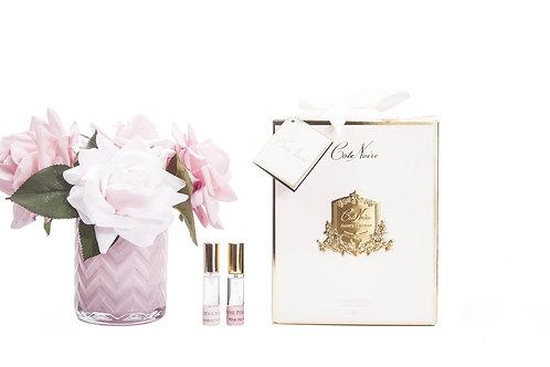 Ароматизированный букет Herringbone Flower - Pink Roses