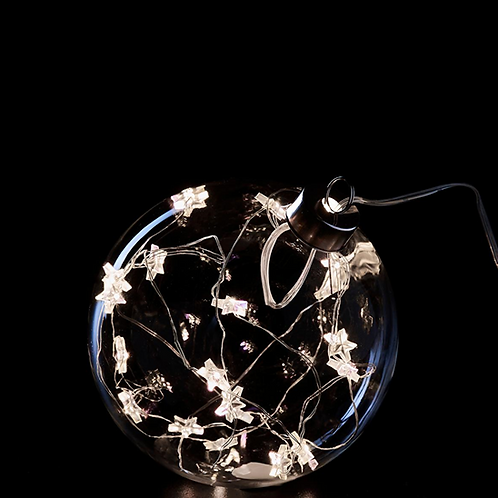Елочный шар со светодиодом