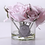Thumbnail: Ароматизированный букет Five Rose Clear Glass - French Pink