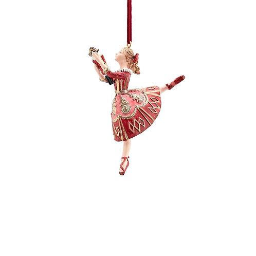 Елочная игрушка Балерина