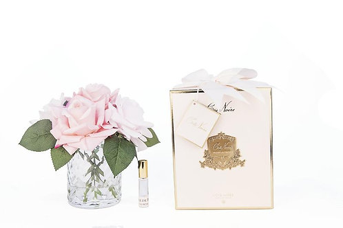Ароматизированный букет Herringbone Flower - Mixed Pink Roses