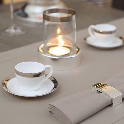 Чашка с блюдцем кофейная