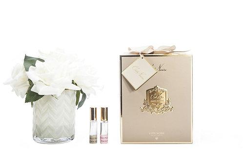 Ароматизированный букет Herringbone Flower Cream - Champagne Roses