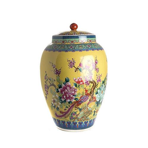 Ваза с крышкой Qianlong