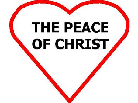 A Piece of Christ, The Peace of Christ