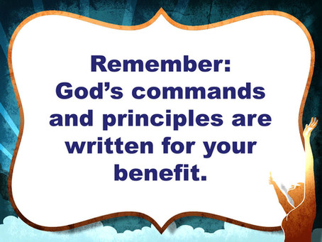 A Principled God, A Practical God