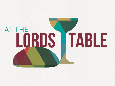 Remember, It's The Lord's Table