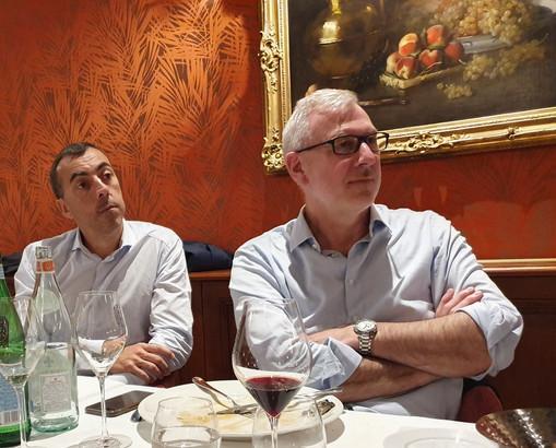 Lyon : Emmanuel Gabas Président Seemore Voyages et Emmanuel Bourgeat Directeur Général Travelport