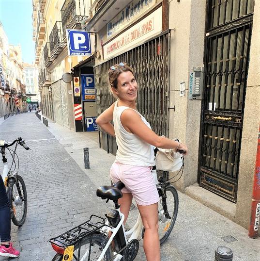 Madrid : Marie Allantaz Présidente collège Formation-Jeunesse