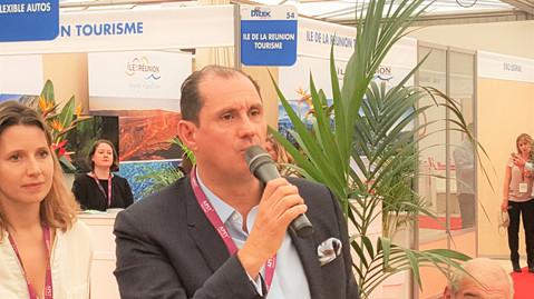 Ditexpert 2016 : Jean Pierre Lorente Président Bleu Voyages